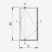door opening pivot